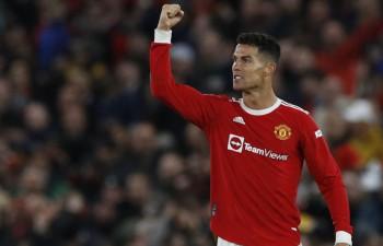 """Ronaldu kļūst par galveno varoni savā 300. spēlē Mančestras """"United"""" sastāvā"""