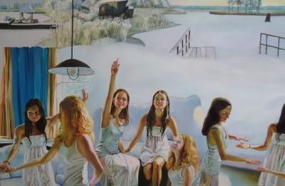 Liepājas muzejā būs skatāma Maijas Tabakas gleznu izstāde