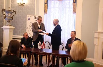 Daugavpils teātris parakstījis sadarbības vienošanos ar J. Kupalas Nacionālo akadēmisko teātri (Minska)
