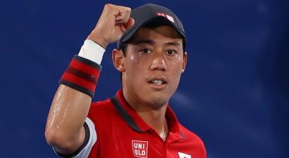 Nišikori pēc Osakas zaudējuma saglabā Japānai tenisa medaļas cerību