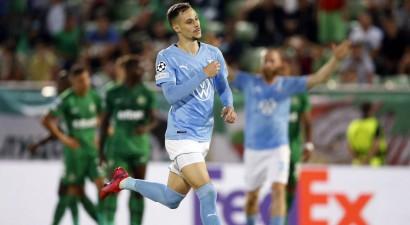 """""""Malmö"""" zaudē Dambrauskam, taču iekļūst Čempionu līgas grupu turnīrā"""