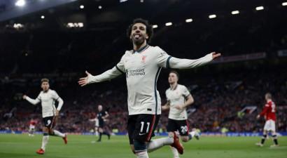 """Salāham <i>hat-trick</i>, Pogbā sarkanā, """"Liverpool"""" ar 5:0 <i>iznīcina</i> """"United"""""""