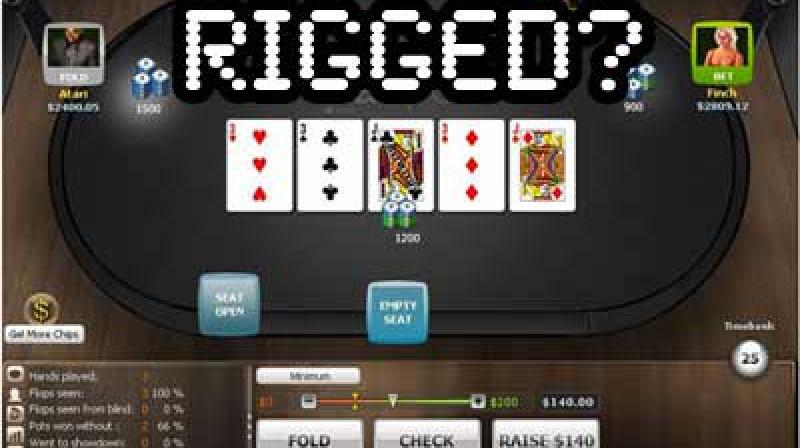 RIGGED?
