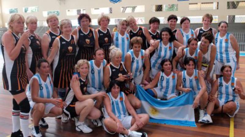 Latvijas izlases basketbolistes pēc uzvaras pār Argentīnas komandu Foto: No komandas personīgā arhīva