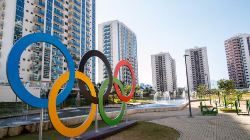 Rio olimpiskais ciemats  Foto: Gabriel Heusi / rio2016.com