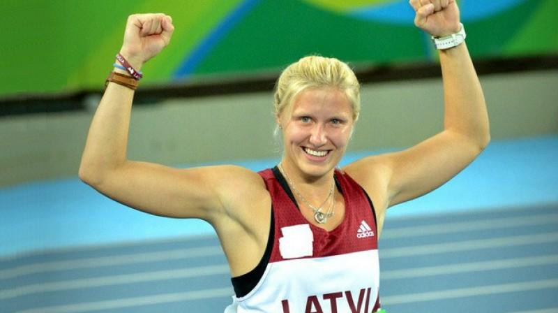 Diāna Dadzīte triumfē Rio paralimpiādē  Foto: Juris Bērziņš-Soms, lpkomiteja.lv