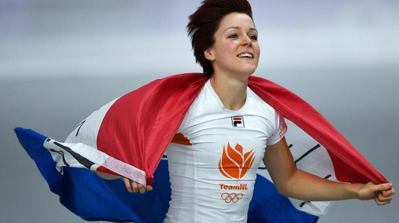 Joriena Ter Morsa: Nīderlandes 114. medaļa ātrslidošanā Foto: Sputnik/Scanpix