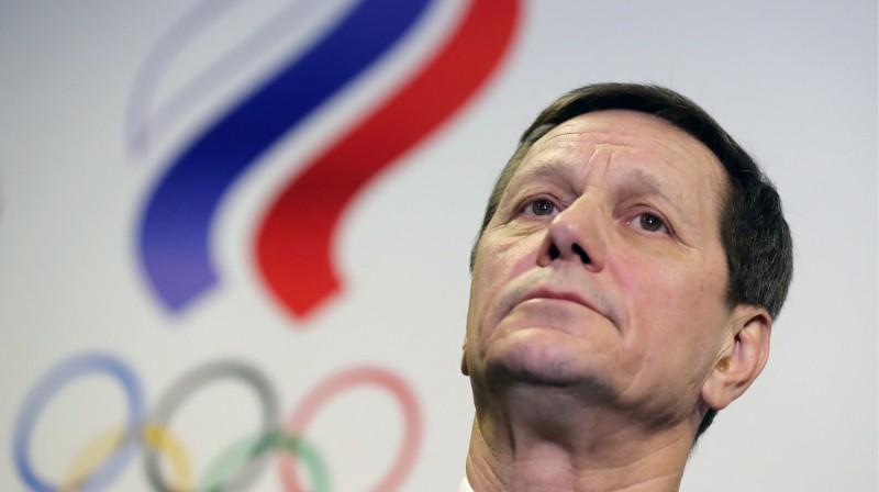 Krievijas Olimpiskās komitejas prezidents Aleksandrs Žukovs  Foto: TASS / Scanpix