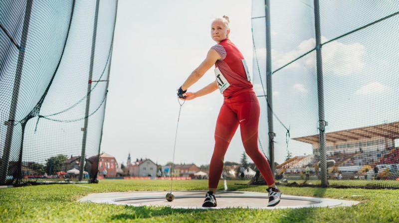 Laura Igaune. Foto: Guntis Bērziņš, athletics.lv