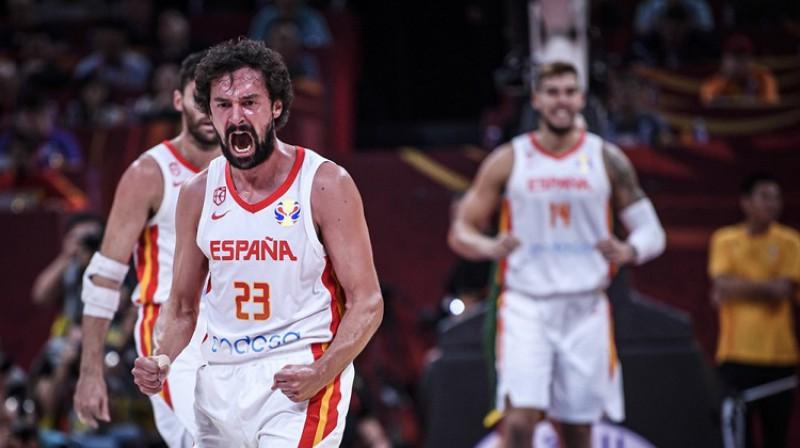 Serhio Jujs: divi tālmetieni otrajā papildlaikā. Foto: FIBA