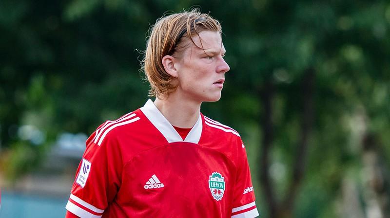Mārtiņš Ķigurs. Foto: FK Liepāja