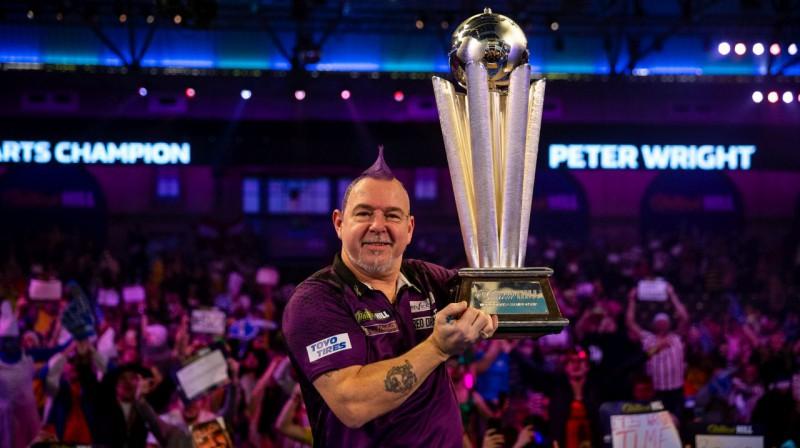 Pagājušā gada čempions - Pīters Raits. Foto: PA Wire/Scanpix