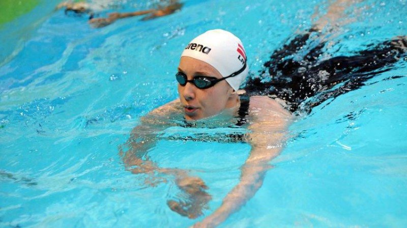 Arina Baikova.Foto: Latvijas peldēšanas federācija.
