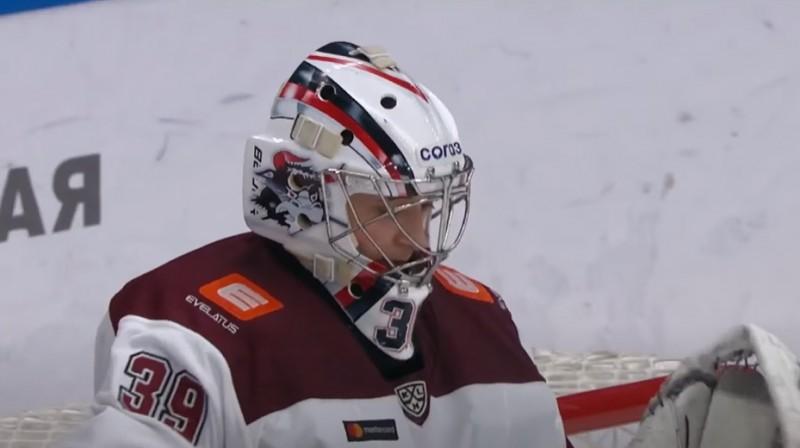 Jānis Voris. Foto; KHL
