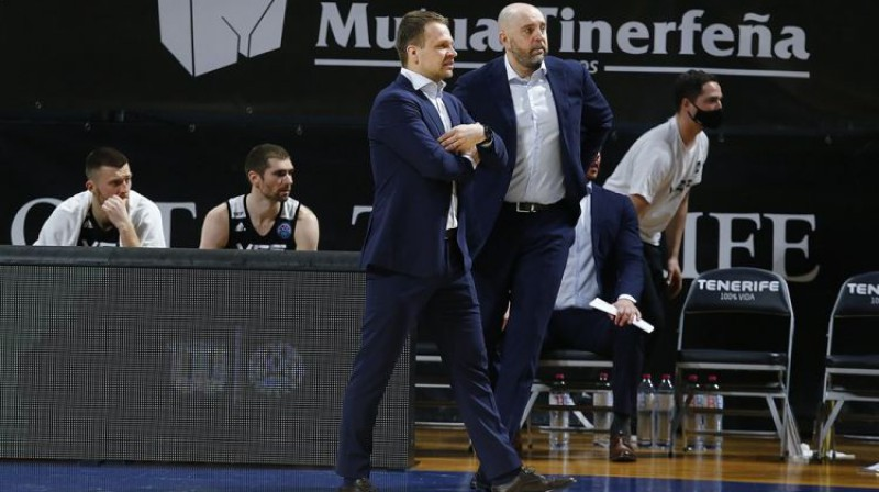 Jānis Gailītis. Foto: FIBA Champions League