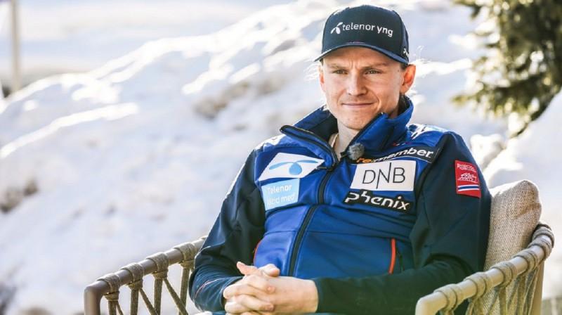 """Henriks Kristofersens pasaules čempionāta laikā Kortīnā d""""Ampeco. Foto: Torstein Bøe, NTB"""