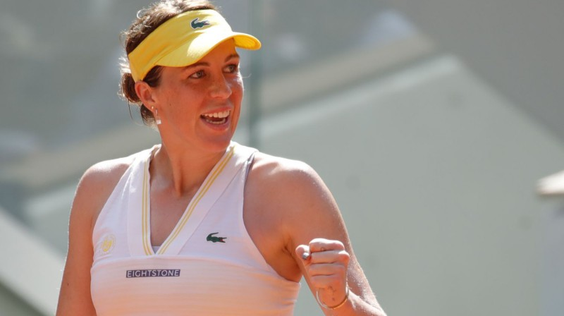 Anastasija Pavļučenkova. Foto: Reuters/Scanpix