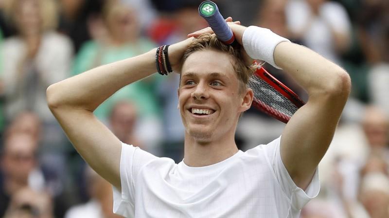 Deniss Šapovalovs. Foto: Reuters/Scanpix