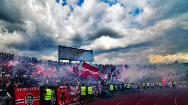 Sofijas CSKA fani. Foto: cska.bg