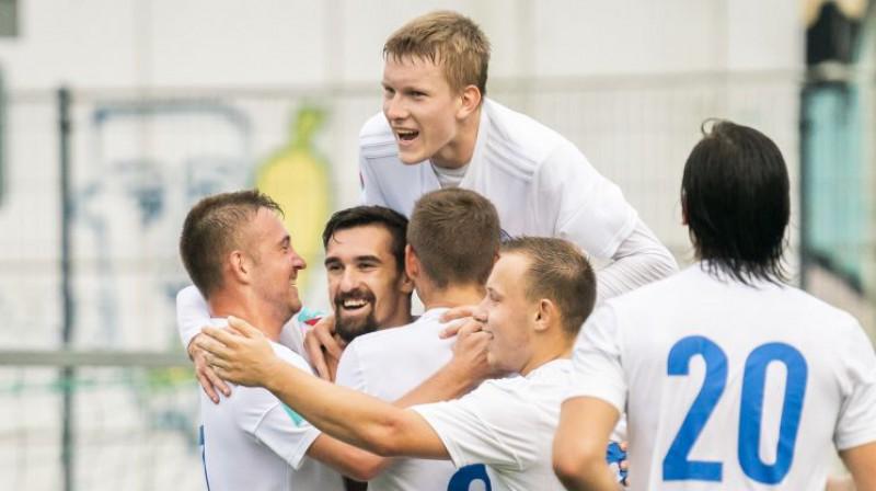 """""""Dinamo Rīga"""" futbolisti. Foto: LFF"""