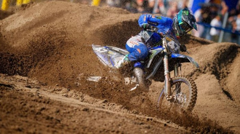 Kārlis Reišulis. Foto: Yamaha Racing