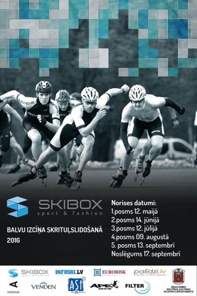 """Ceturtdien sāksies """"Skibox balva"""" skrituļslidošanā"""