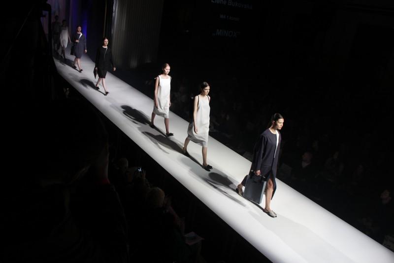 Latvijas Mākslas akadēmijas studentu kolekciju modes skate 2016