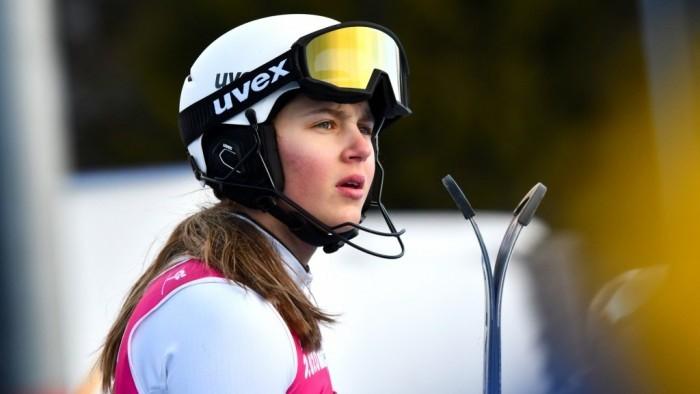 Ģērmane Eiropas kausa sacensībās kalnu slēpošanā ieņem 39. vietu