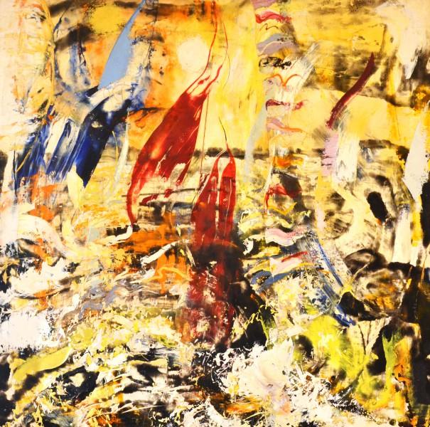 """LMS galerijā apskatāma vizuālās mākslas izstāde """"Ābols. Ripo. Jūra."""""""