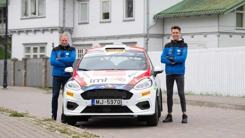 Sesks turpinās startēt pasaules rallija čempionātā JWRC klasē