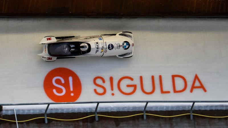 Covid-19 saslimšanas dēļ Siguldā nestartēs Krievijas bobslejisti