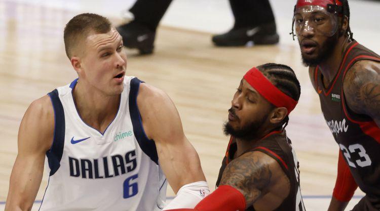 """Porziņģa spēlēšana zem jautājuma zīmes, Bertāns pret NBA čempioni """"Lakers"""""""