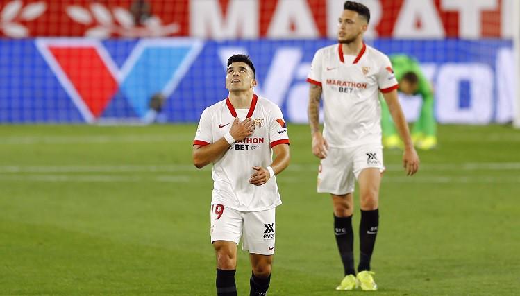 """Vēl viens trieciens pa """"Atletico"""" izredzēm uz titulu - zaudējums Seviljā"""