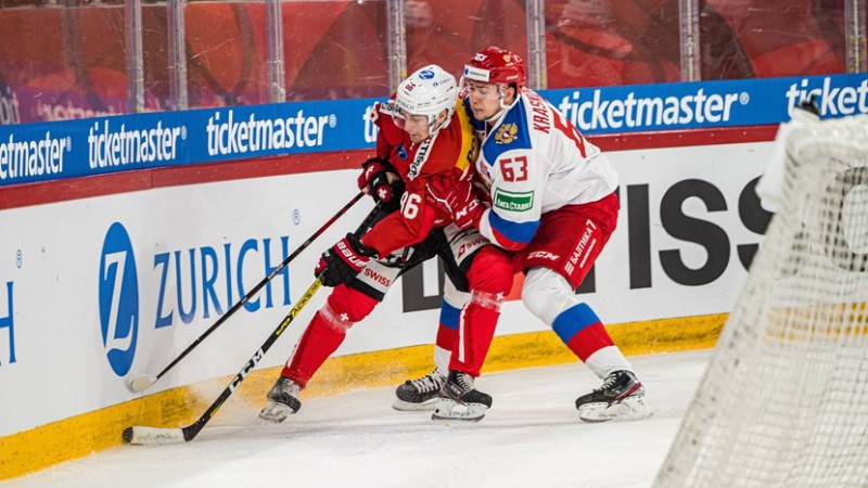 Šveicieši gatavošanos pasaules čempionātam sāk ar Krievijas pieveikšanu