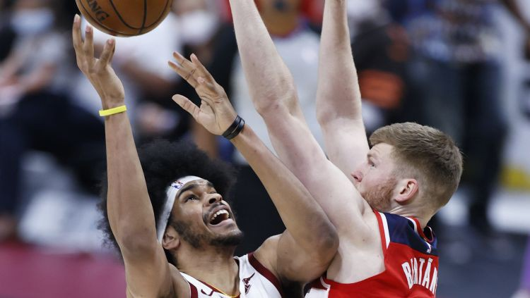 """Bertānam septiņi punkti """"Wizards"""" sezonas lielākajā uzvarā"""