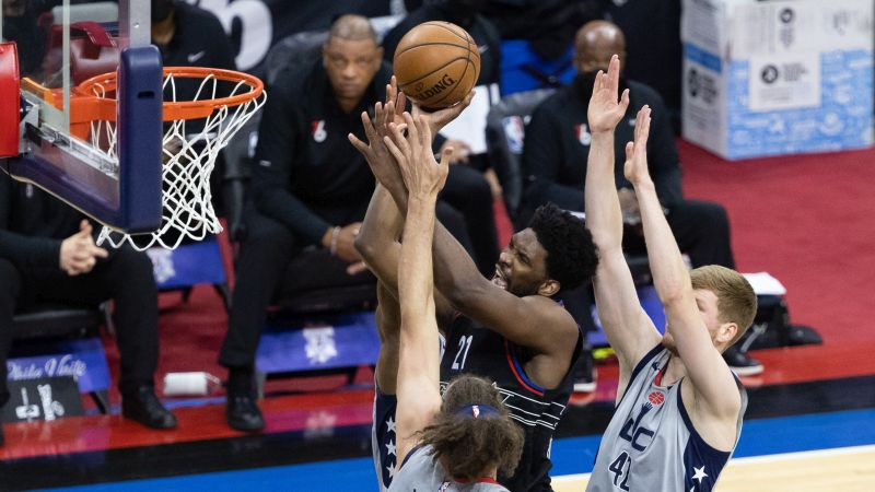 """Bertānam """"play-off"""" karjeras rekords , """"Wizards"""" pirmajā mačā zaudē """"76ers"""""""