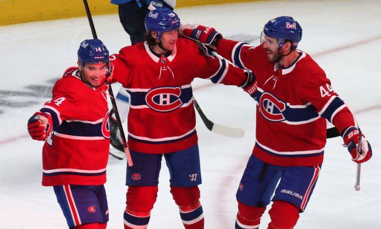 ''Canadiens'' izcīna sesto uzvaru pēc kārtas ''play-off'' un 3-0 sērijā pret ''Jets''