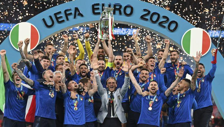 """""""Euro 2020"""" skaitļos: Itālijai divreiz vairāk sitienu pa vārtiem nekā Anglijai"""