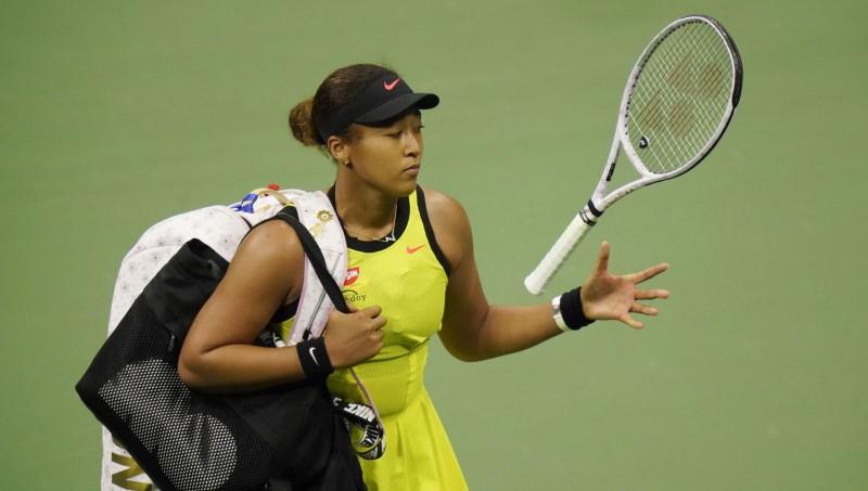 """Osaka izlaiž uzvaru """"US Open"""" trešās kārtas mačā, plāno kārtējo pauzi no tenisa"""
