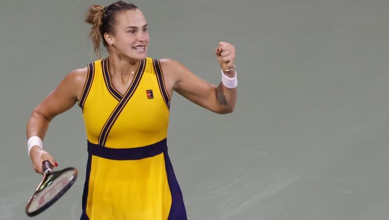 """Galvenā favorīte Sabaļenka tiksies ar Ņujorkā pēdējo palikušo """"Grand Slam"""" čempioni Krejčīkovu"""