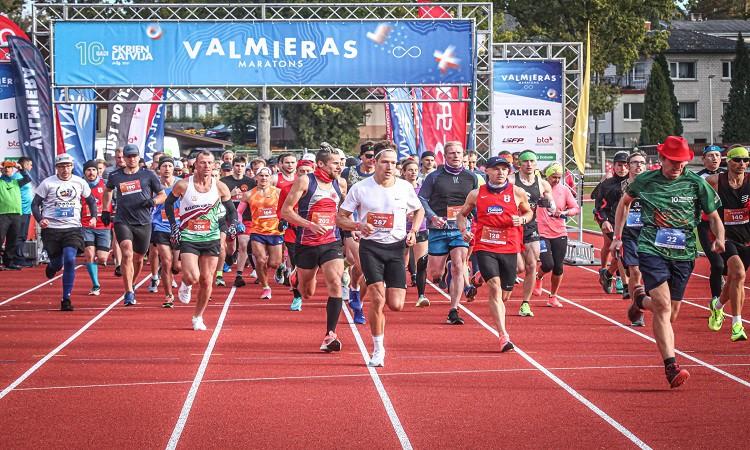 Valmieras maratonā uzvar Kaimiņš un Krūmiņa