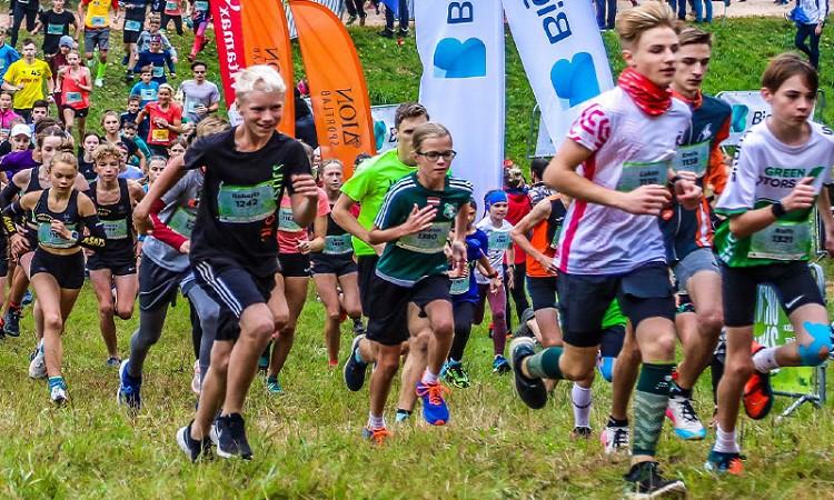 Sadalītas Latvijas čempionāta medaļas krosā jauniešu un junioru grupā